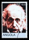 Francobollo del Albert Einstein Fotografie Stock
