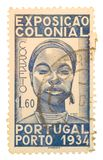 Francobollo del Portogallo dell'annata Immagine Stock Libera da Diritti