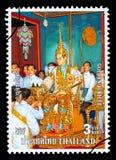Francobollo del regno di Thailandia Fotografia Stock Libera da Diritti