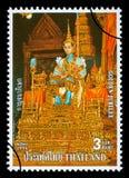 Francobollo del regno di Thailandia Fotografie Stock