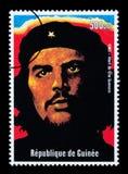 Francobollo di Che Guevara Immagini Stock Libere da Diritti