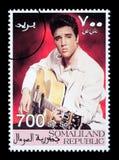 Francobollo di Elvis Presely Immagini Stock Libere da Diritti