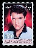 Francobollo di Elvis Presley Fotografia Stock Libera da Diritti