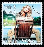 Francobollo di Madonna Fotografia Stock Libera da Diritti