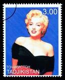 Francobollo di Marilyn Monroe Fotografie Stock Libere da Diritti