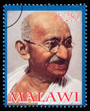 Francobollo di Mohandas Karamchand Gandhi Immagini Stock Libere da Diritti