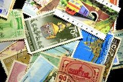 Francobollo Tailandia Fotografie Stock Libere da Diritti