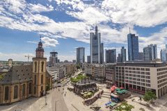 Francoforte Alemanha Fotos de Stock