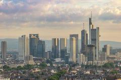 Francoforte Alemanha Foto de Stock Royalty Free