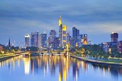 Francoforte - am - cano principal Foto de Stock