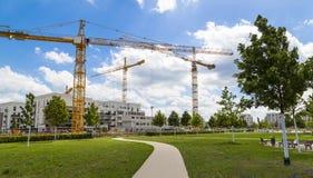 Francoforte - am - cano principal, Alemanha, Gallus do distrito, Gallusviertel: ne Imagens de Stock Royalty Free