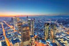 Francoforte - am - cano principal, Alemanha imagem de stock royalty free