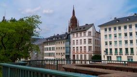 Francoforte - am - cano principal, em junho de 2017 no bom tempo Foto de Stock Royalty Free