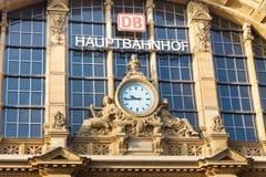 Francoforte Hauptbahnhof (stazione centrale) fotografia stock