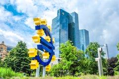 Francoforte, a metrópole de Alemanha Imagens de Stock