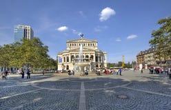 Francoforte Opera Imagens de Stock Royalty Free