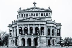 Francoforte Opera Foto de Stock