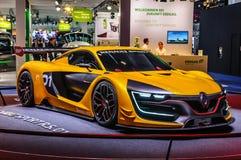 FRANCOFORTE - SEPT 2015: Renault Sport R S o conceito 01 apresentou a Fotografia de Stock Royalty Free