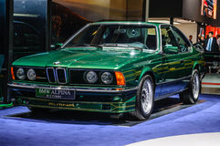 FRANCOFORTE - SETTEMBRE DEL 2015: BMW Alpina B7 S Turbo ha presentato a IAA dentro Fotografia Stock Libera da Diritti