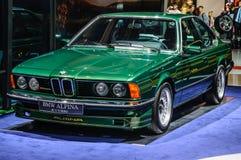 FRANCOFORTE - SETTEMBRE DEL 2015: BMW Alpina B7 S Turbo ha presentato a IAA dentro Fotografie Stock Libere da Diritti