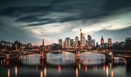 Francoforte sul Meno Fotografie Stock
