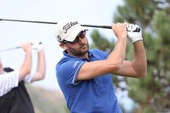 Francois Delamontagne au défi 2013 de golf de Pleneuf Val Andre Photo libre de droits