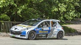 Francois Delecour - Dominique Savignoni- Transylvania Rally 2014 Stock Photography