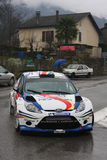 Francois Delecour at Monte Carlo Rally 2012 Stock Image
