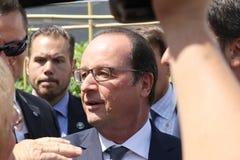 Francois Hollande Stock Foto's