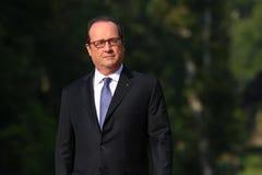 Francois Hollande Fotografía de archivo libre de regalías