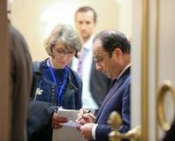 Francois Hollande Royalty Free Stock Photo