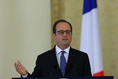 FRANCOIS HOLLANDE Royalty Free Stock Image