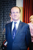 Francois Hollande. Wax statue at the famous Madame Tussaud's museum in London. Photo taken on: Juillet 03rd, 2015 royalty free stock photography