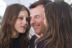 Francois Ozon and Marine Vacth Royalty Free Stock Images