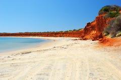 Francois Peron National Park, Australië Royalty-vrije Stock Afbeeldingen