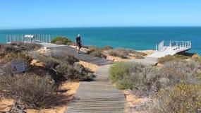 Francois Peron National Park, baia dello squalo, Australia occidentale Immagini Stock