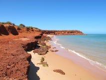 Francois Peron National Park, baia dello squalo, Australia occidentale Fotografie Stock