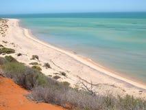 Francois Peron National Park, baia dello squalo, Australia occidentale immagini stock libere da diritti