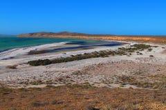 Francois Peron National Park, Haifisch-Bucht, West-Australien stockbild