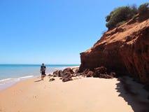 Francois Peron National Park, Haifisch-Bucht, West-Australien lizenzfreies stockfoto