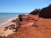 Francois Peron National Park, Haifisch-Bucht, West-Australien stockfoto