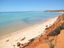 Francois Peron National Park, Haifisch-Bucht, West-Australien stockfotos