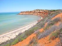 Francois Peron National Park, Haifisch-Bucht, West-Australien lizenzfreie stockfotos
