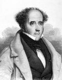 Francois Rene de Chateaubriand Stock Image