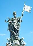 franconia雕塑 免版税库存照片