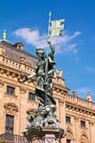 franconia фонтана Стоковое Изображение