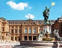 franconia фонтана Стоковое Фото