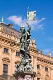 Franconia  Fountain Stock Image