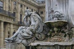 Franconia Fountain - Wurzburg, Germany Stock Image