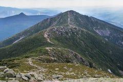 Franconia Ridge Trail dans New Hampshire Photos libres de droits